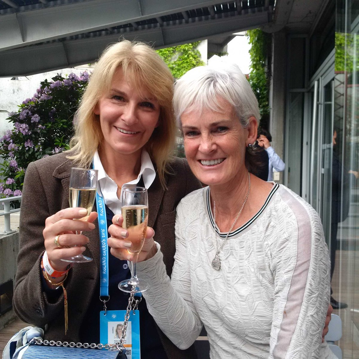 Andy murray twitter - Judy Murray On Twitter Mums Grannies Friends Me And Djana Djokovic Toasting Our Sons Rolandgarros Https T Co 14iyeyct9n