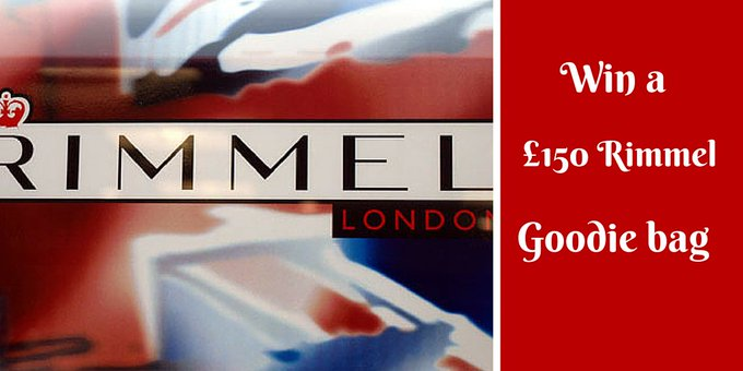 Win a 150 Rimmel goodie bag!Just click bbloggers winitwednesday