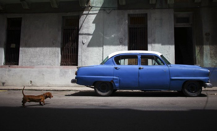 "When David Gilkey went to Cuba, his @nprviz editor said ""No Car pictures!"" He came back with this. RIP my friend. https://t.co/Zd71IqhgWf"