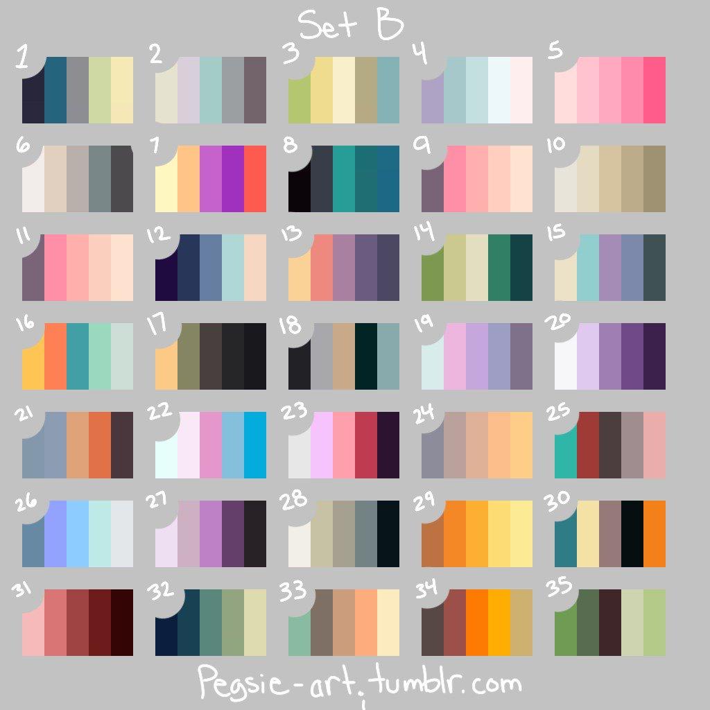 Ambee Davkro On Twitter Okie Color Palette Challenge
