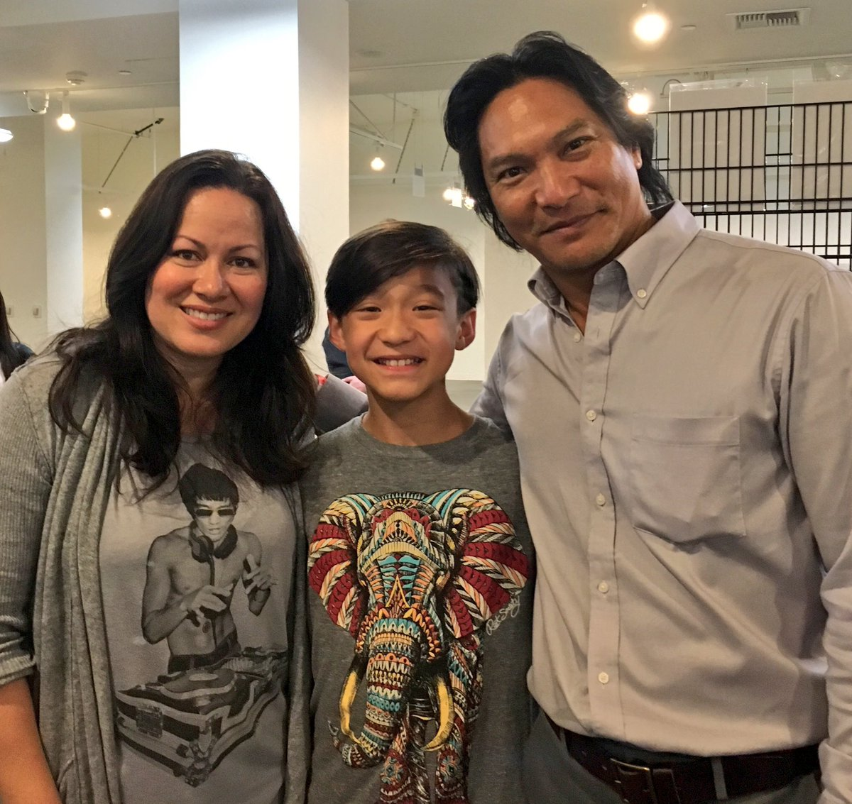 "Forrest Wheeler on Twitter: ""Humbled to meet Shannon Lee ..."