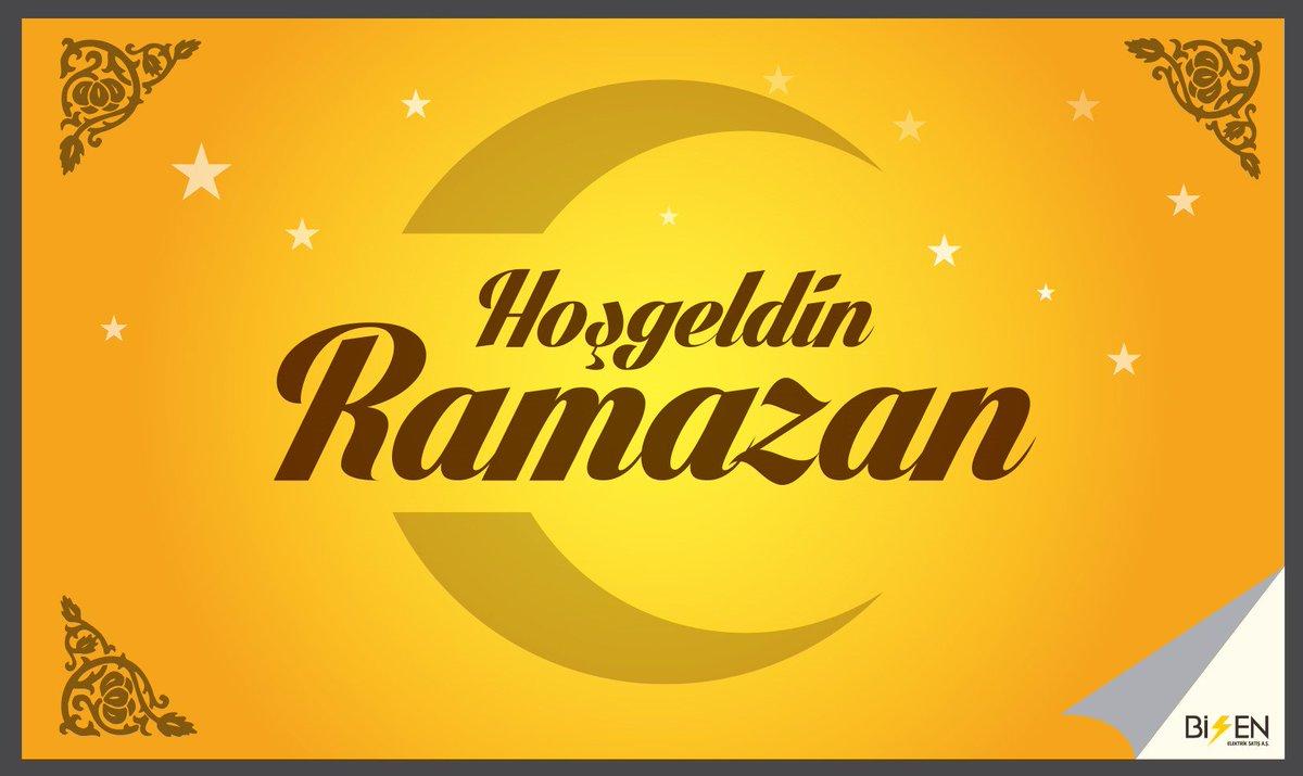 BİSEN Elektrik Hayırlı Ramazanlar Diler... https://t.co/72EBM2aDGE