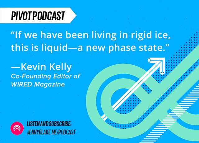 New Pivot Podcast is Live! @Kevin2Kelly on Techno Literacy, Systems Thinking, AI and VR: https://t.co/I5AbdJsc8w https://t.co/iZB2WeN0aS