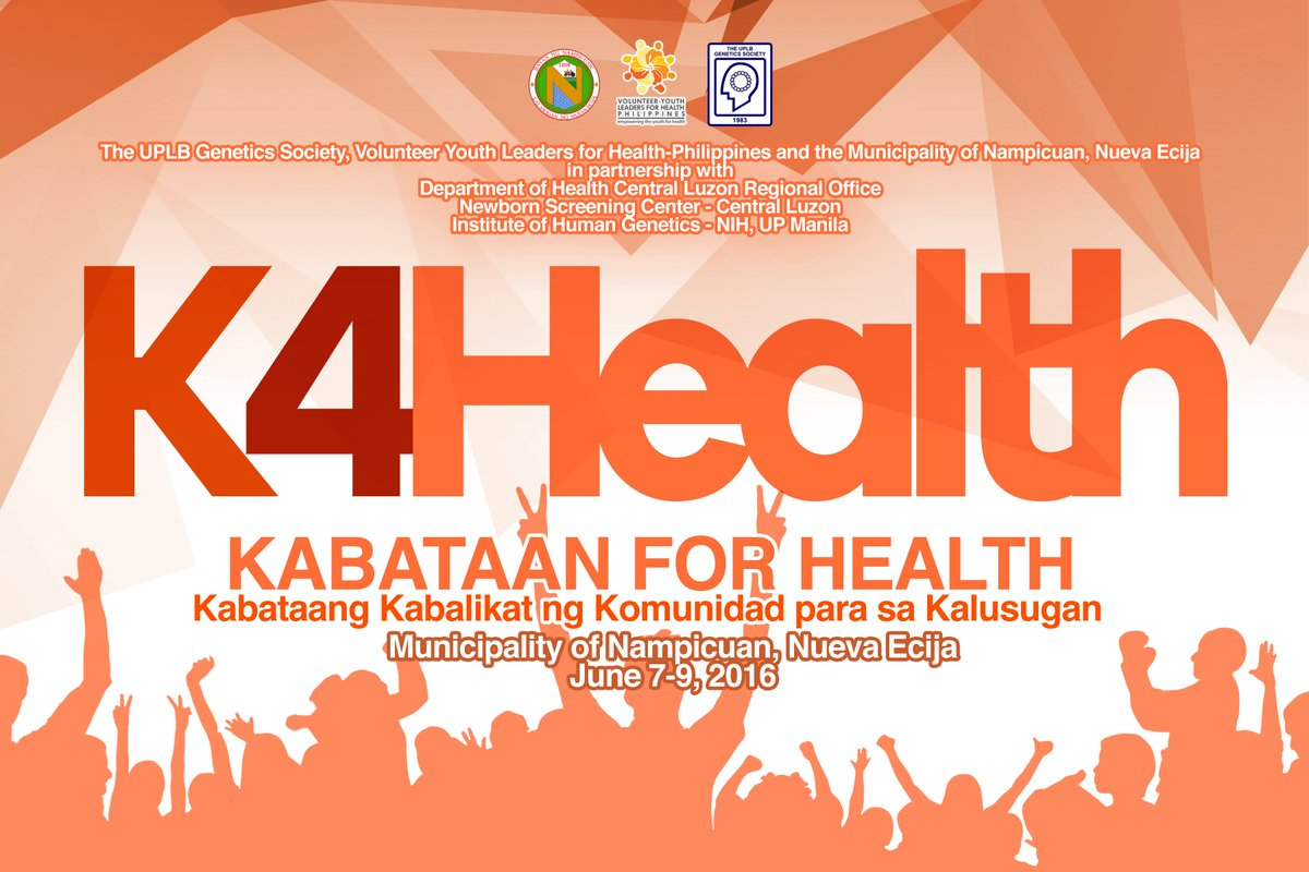 K4Health Training Program commences tomorrow in Nueva Ecija! Visit https://t.co/WYu1bkrcCk for info.@vylhphilippines https://t.co/cqqG2rVgrk