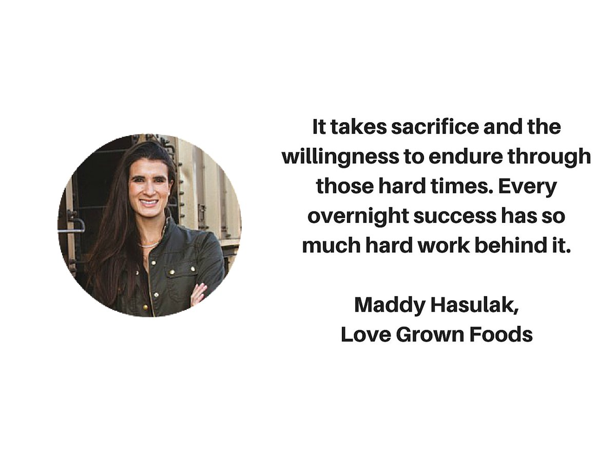 Every overnight success has so much hard work, Maddy @lovegrownfoods #blissfulbitespodcast https://t.co/A4hFdoRSUN https://t.co/SK7rN0XSZI