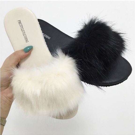 How Cute Are Our New India Fluffy Sliders Available In
