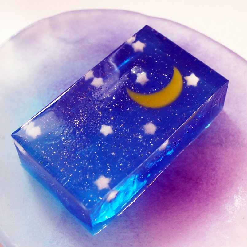 京都の亀屋清氷の和菓子星づく夜が綺麗すぎる!
