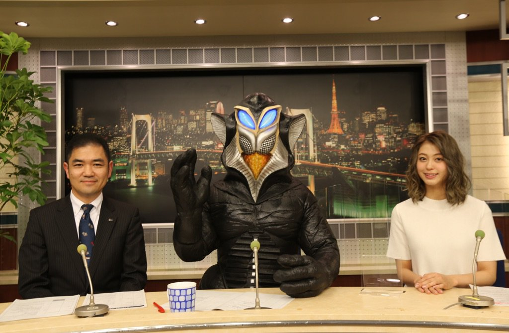 『ウルトラ怪獣NEWS』7月にBSスカパーで放送予定!ウルトラマン放送50年目を記念してメフィラス星人、大川藍、渋谷浩康(円谷プロ)でウルトラ作品をナビゲートします。 https://t.co/C7hH0KfqtL