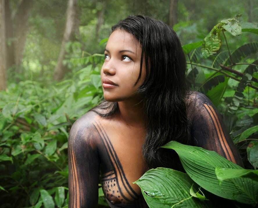 Peruvian jungle girls #7