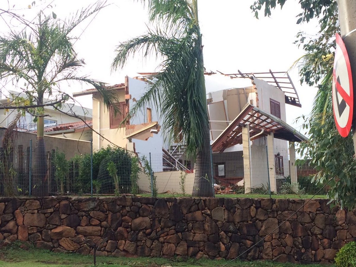 #SP: Dados do Centro de Pesquisas #Meteorológicas apontam que tornado atingiu #Campinas na #madrugada de domingo +