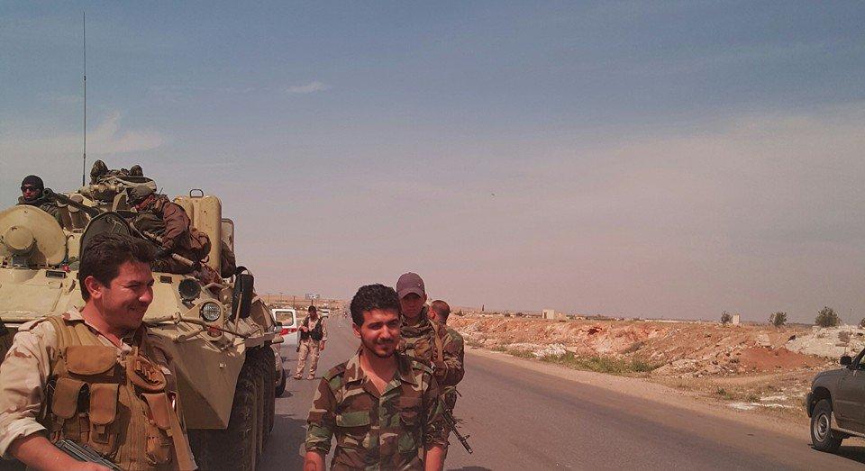 مدرعات BTR-82A الروسيه ودورها في الحرب الاهليه السوريه  CkRRMPsXAAAHlxL