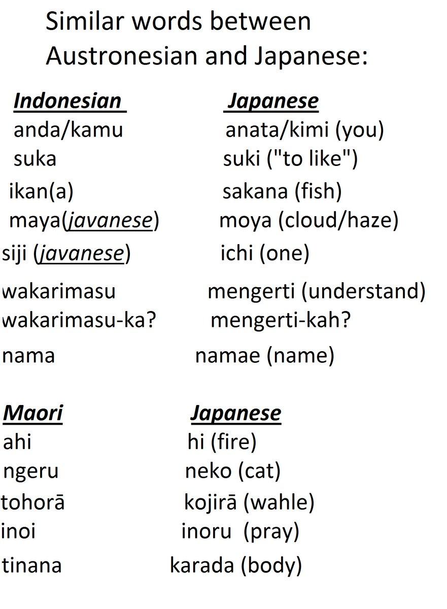 Austronesian Japan on Twitter: