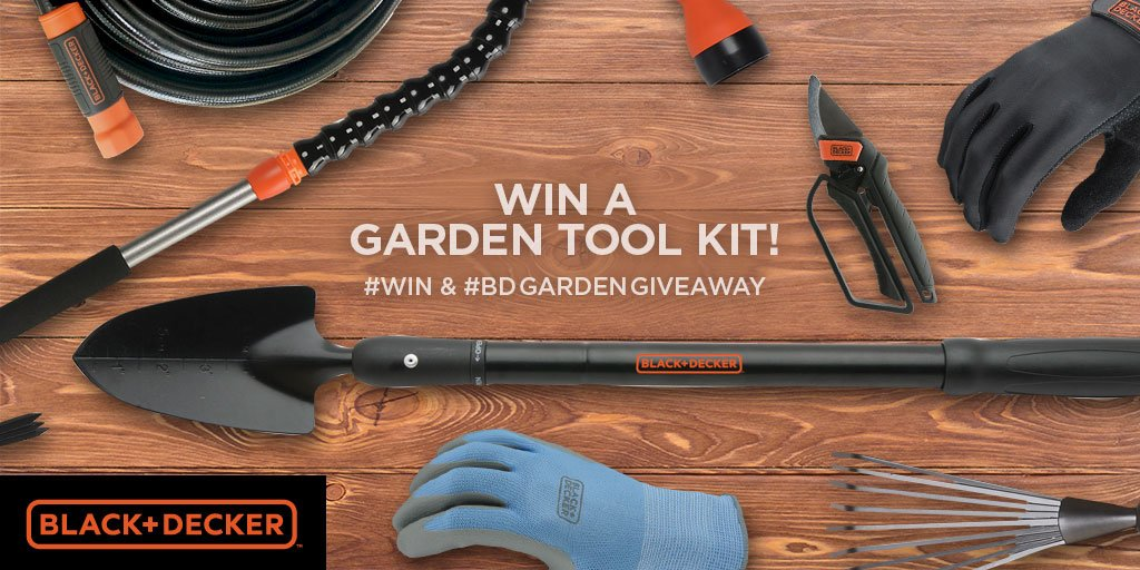 Want 12 new garden tools? Tweet for a chance to #win the @blackanddecker #BDGardenGiveway https://t.co/7RWA5DHqLd https://t.co/ORmPWEwCeD