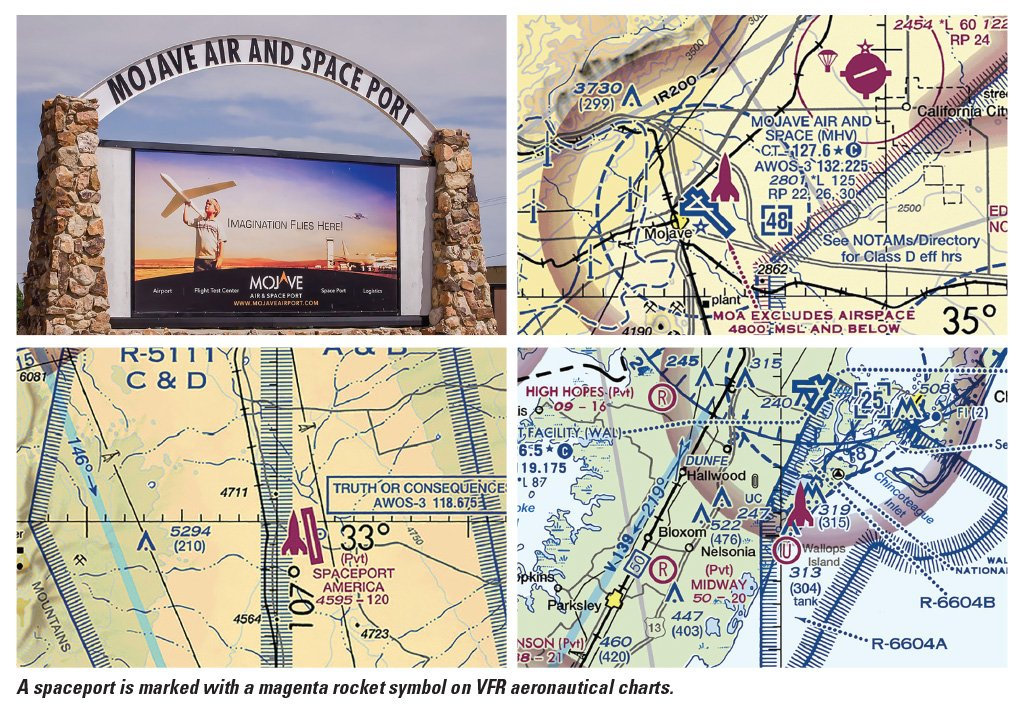 Faa Safety Briefing On Twitter A Spaceport Is Marked With A