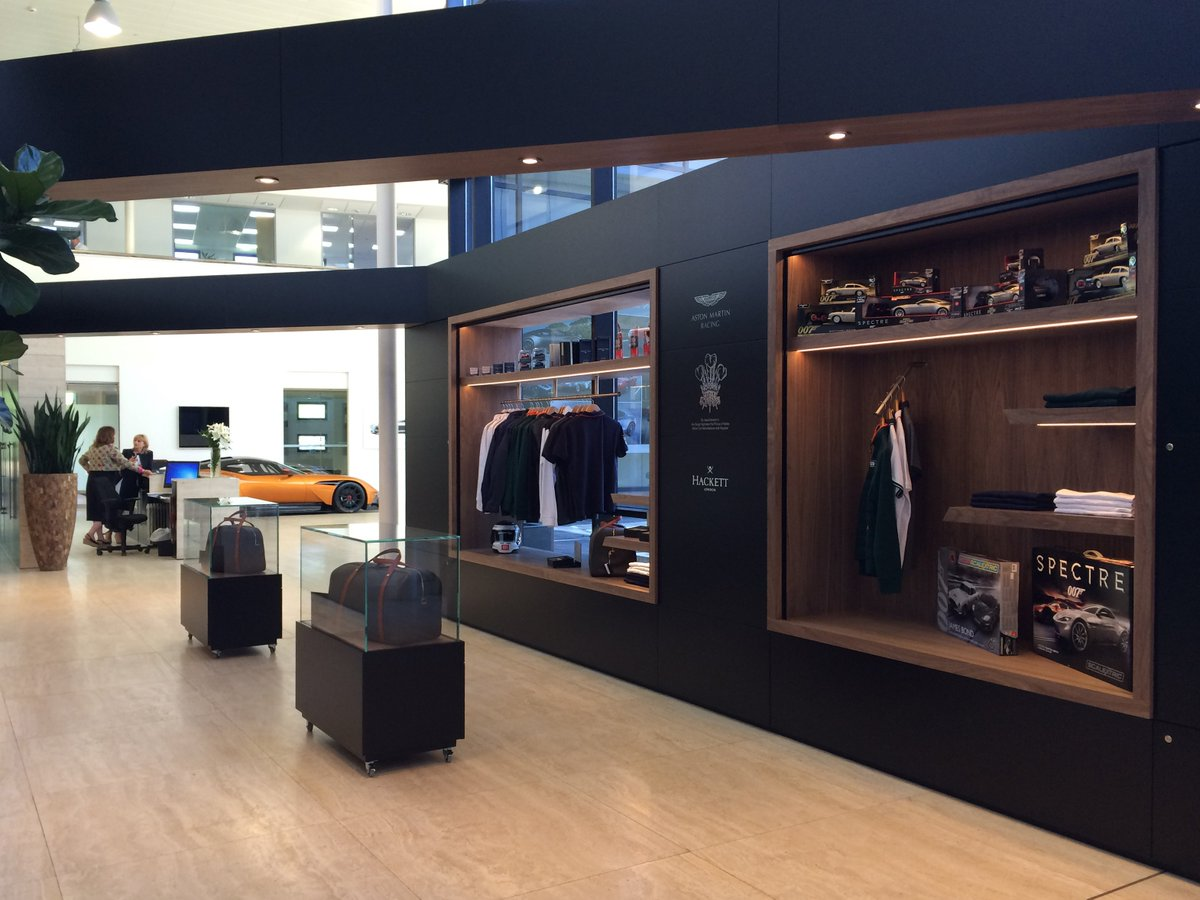 Aston Martin على تويتر A Glimpse Inside Aston Martin Hq And Our New Shop The Latest Addition To The Vip Customer Atrium Here At Gaydon