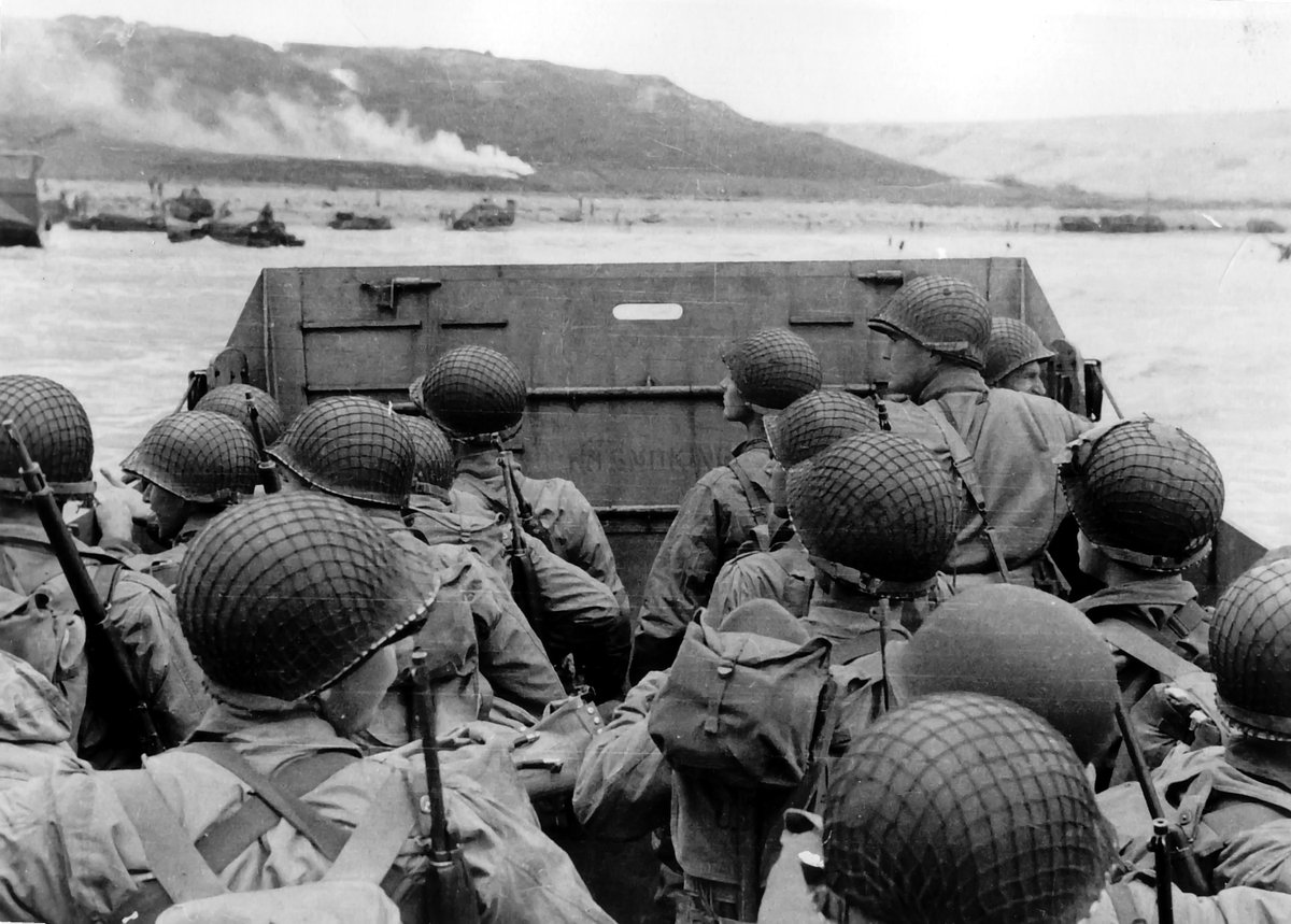 72 yrs ago today Americans landed on the beaches of #Normandy and started the liberation of Hitler's Fortress Europa https://t.co/m2xM5mi8Rk
