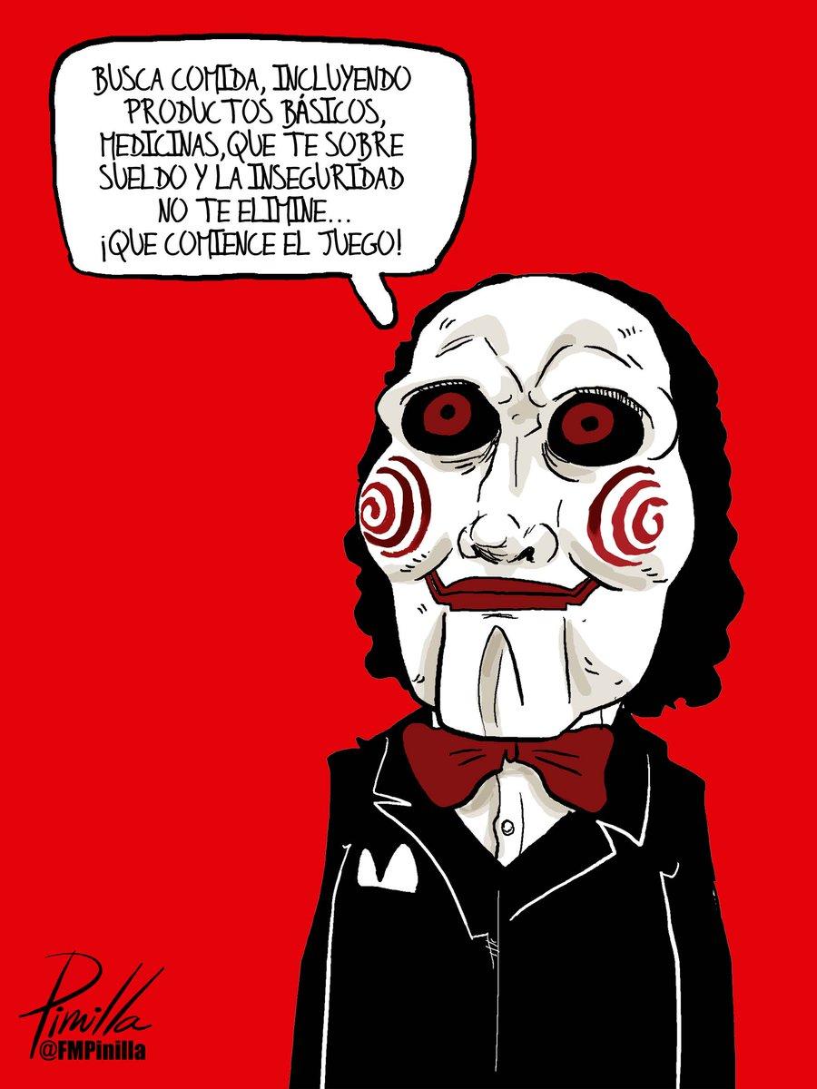 Caricatura Juegos Macabros En Venezuela Que Comience El Juego