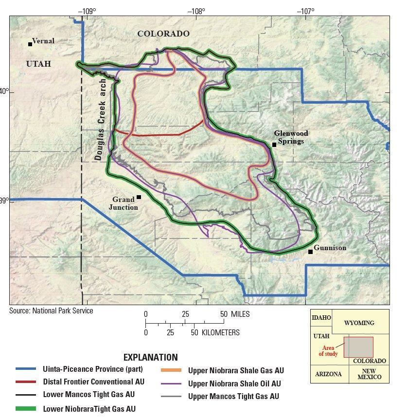Is Colorado Ground Zero For The Next Shale Gas Boom: USGS Energy Program (@usgsenergy)