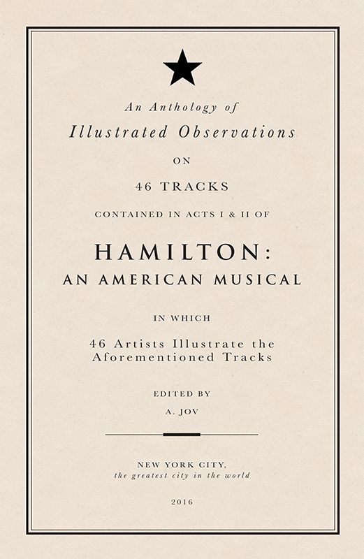 So, like...I recruited 45 artist friends to draw the 46 tracks on the Hamilton cast recording... https://t.co/mqzJy0fACf