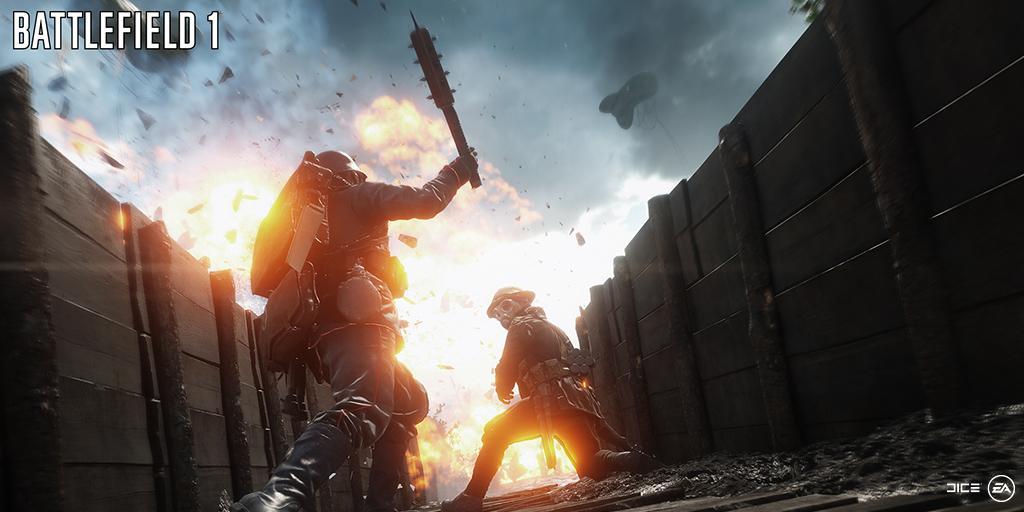 Battlefield 1 Multiplayer Gameplay Teaser 1
