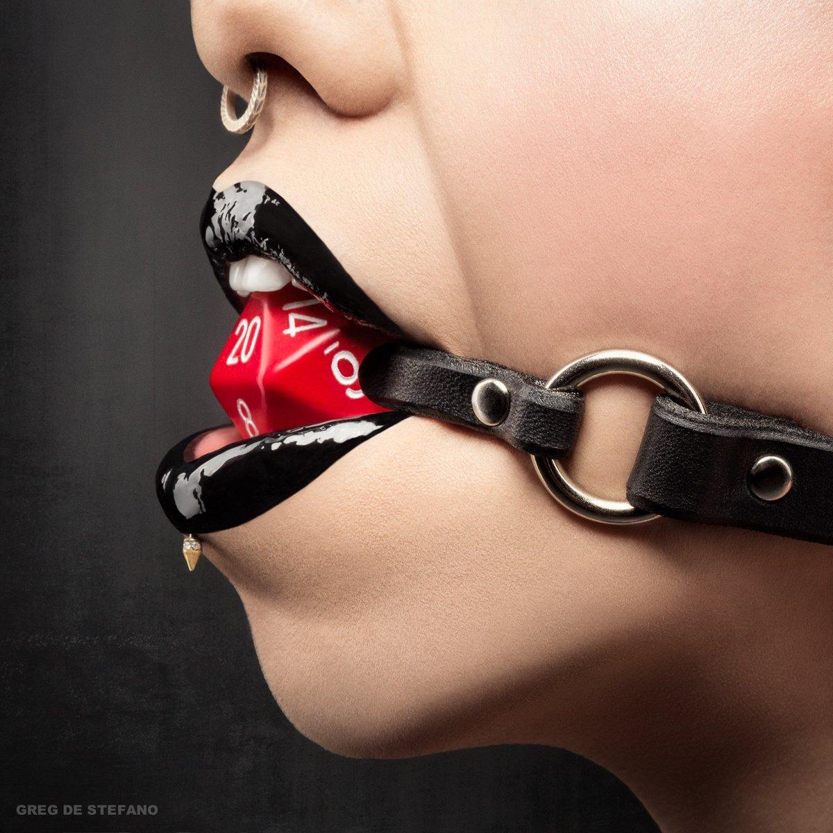 """Slave to the Dice"" #Tabletop #fetish #Dice #D20 Photo by @gdestefano #GregDeStefano MUA: Diana Knudsen. Model: Me https://t.co/rHLc7HmxBJ"