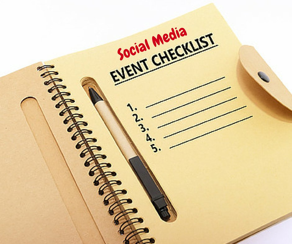 A Social Media Checklist For Events https://t.co/NFT4YixNNh #SMM https://t.co/524RAw8rSi