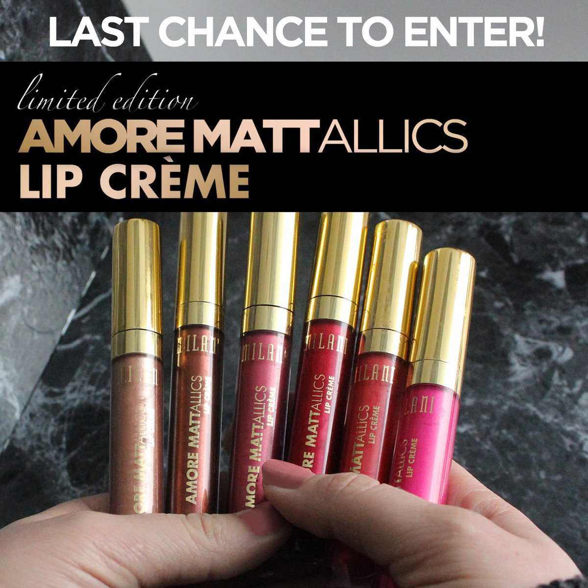 LAST CHANCE to RT your fave shade for your chance to win! US residents only. https://t.co/SZHeFArSCm https://t.co/YeSqD9i9zc