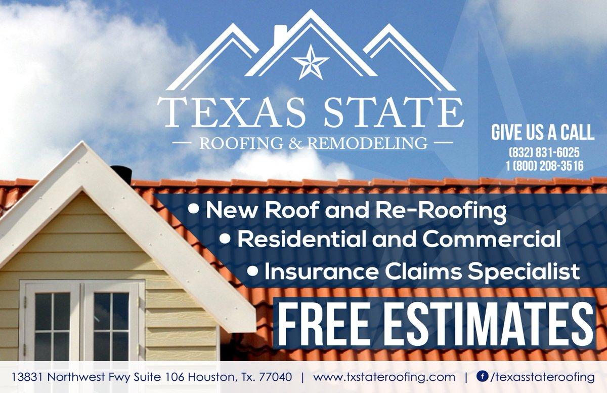 0 Replies Retweets Likes. Texas State Roofing ...