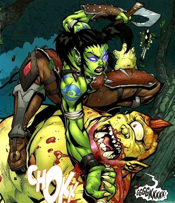 Boorish ogre stabbed 126 times after telling Garona he'd like to see her naked https://t.co/95bBjsKRNQ https://t.co/Z9OjRJTbmP