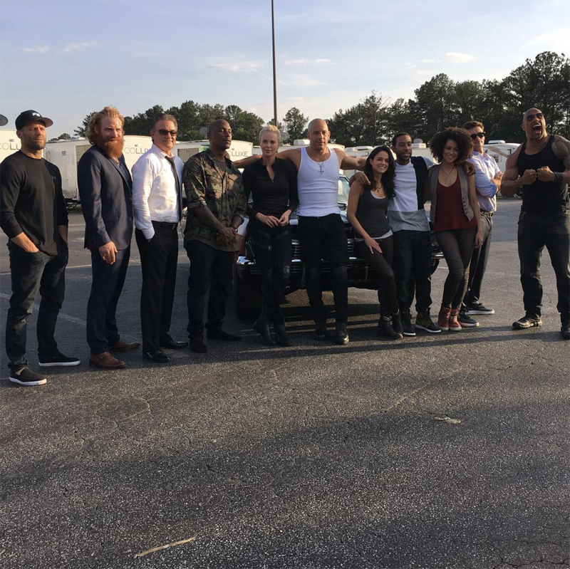 Fast 8 Set Video Featuring Zombie Cars 1