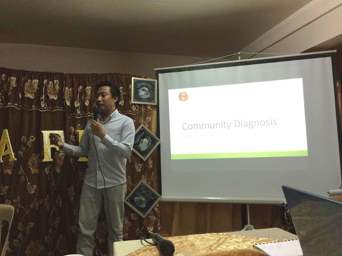 GeneSoc alumnus & Municipal Health Officer of Nampicuan Dr. Quimado on Local Health Situation in the Municipality https://t.co/eAvS8dEay1