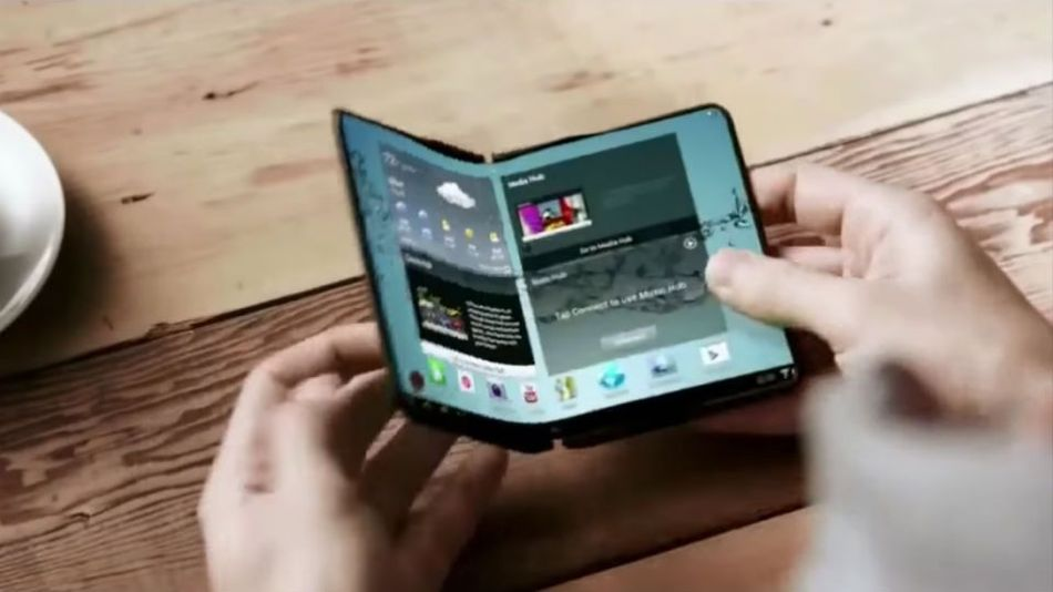 Samsung's bendable smartphones might become real in early 2017