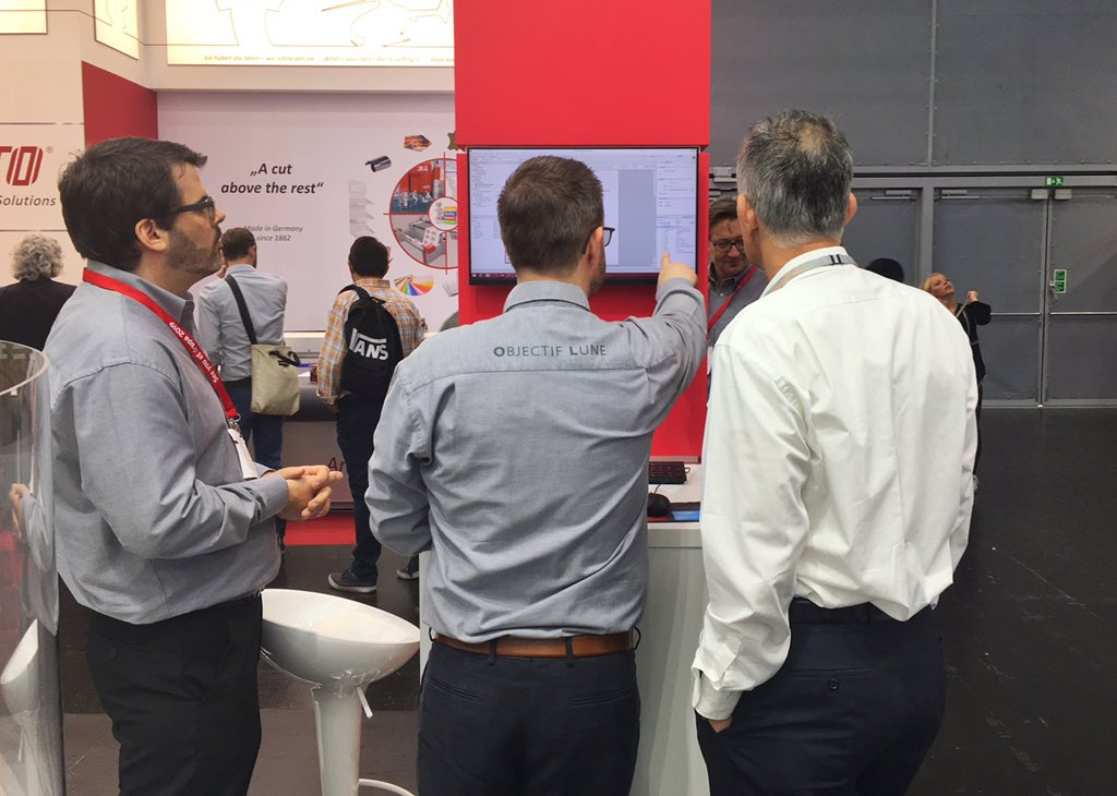 Live demo happening right now, come see the power of our software! #drupa2016 #customerservice #DocumentManagement https://t.co/Ssp92pif4T