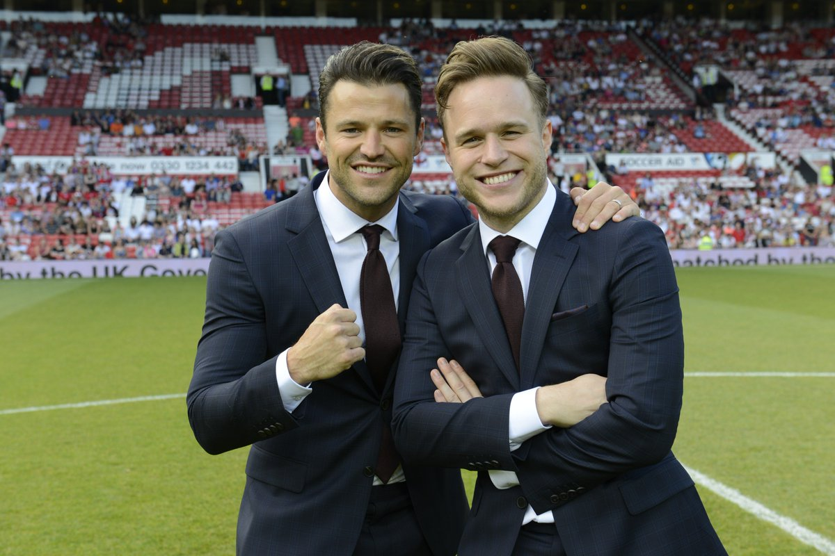 Proud outfitters of #SoccerAid2016. @MarkWright_ and @ollyofficial displayed winning style in our Horatious suits. https://t.co/Eqnbiao3b0