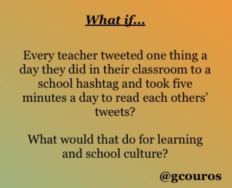 6 Ways to Use Twitter for School Professional Learning https://t.co/ZSeDUKIvzJ #nt2t #catholicedchat @gcouros https://t.co/hN1f6XzF9J