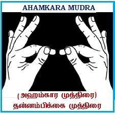 Afbeeldingsresultaat voor Ahamkara Mudra