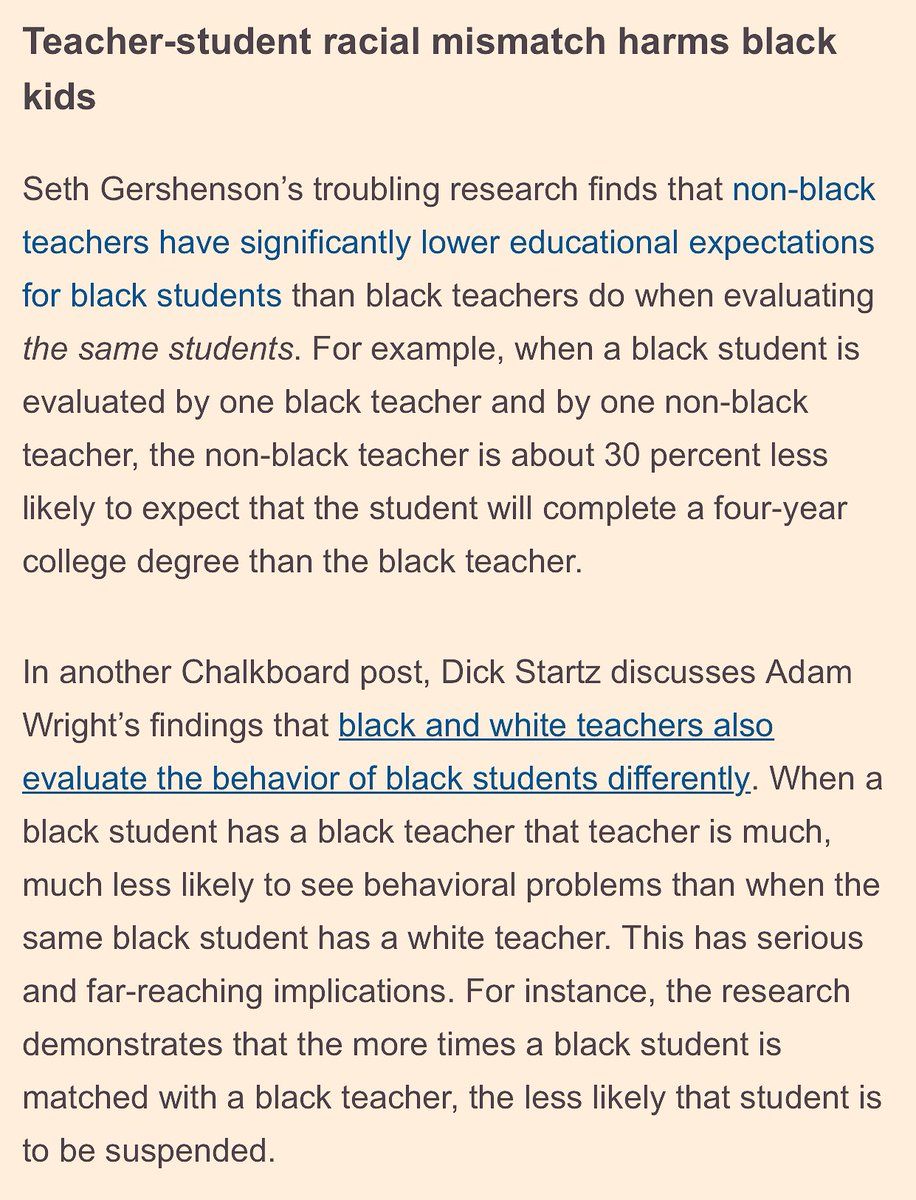 Teachers Lower Expectations For Black >> Brittany Packnett On Twitter Brookingsinst Has Some Hard Facts