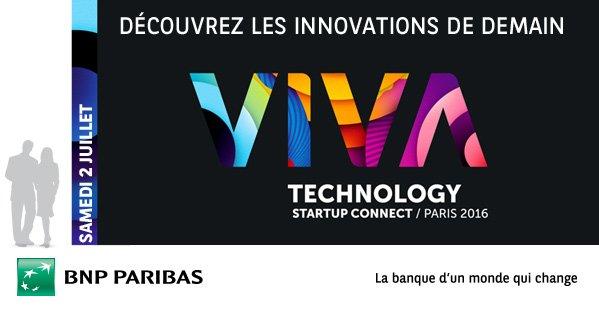 Gagnez vos places pour @VivaTech le 02/07! On vous offre 50x2 places ! RT + follow pour participer au jeu #VivaTech https://t.co/C8uPtVxmrb