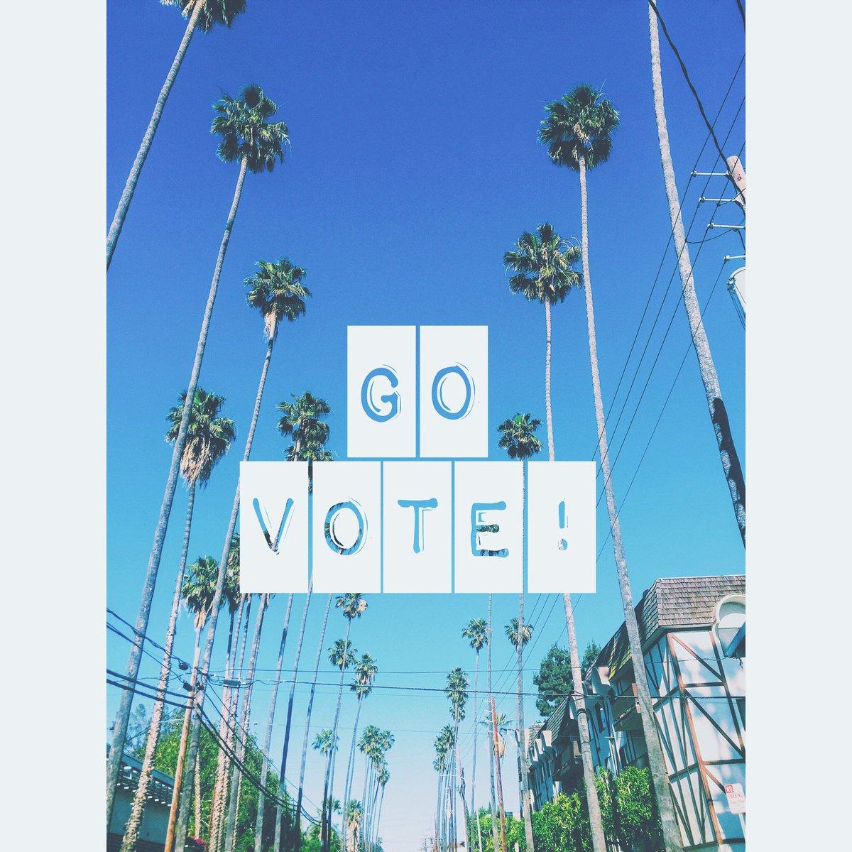 Rise, shine, & VOTE! #MyDayInLA #partyatthepolls #lovela #la https://t.co/UDNkWjXfHh