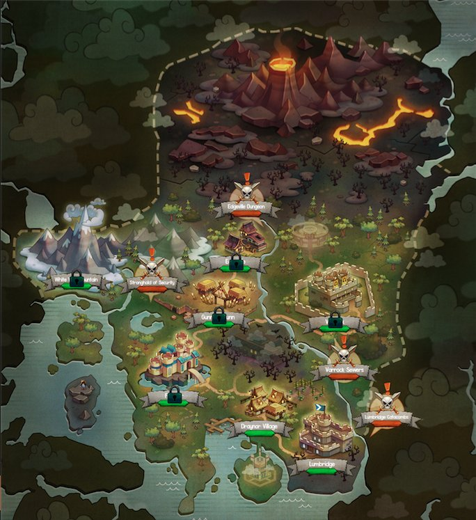 Finalized RS Idle Map ...