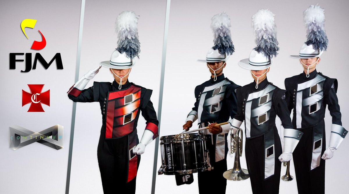 Thank you @FredJMillerInc for the amazing look this year and the continued support! #dci2016 #continuum https://t.co/xnjgNitUnG