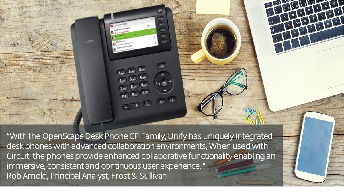 Unify On Twitter See What Leading Analyst Robarnolducc Thinks Caller Id Circuit About Our New Openscape Desk Phone Cp Family Https Tco H7n8ggvyj5
