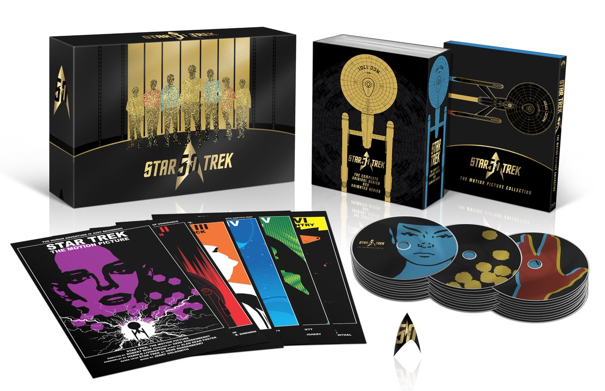 New @StarTrek 50th Anniversary TV and Movie Collection coming in September. I hope you're all as excited as I am https://t.co/uJM7aZoCfF