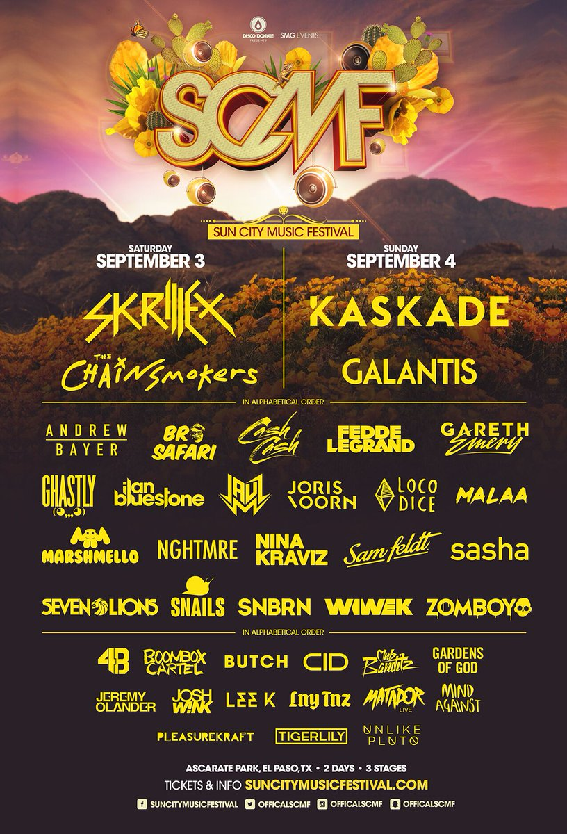 USA,happy to announce that we'll be at @OfficialSCMF on the first weekend of September! See you guys there! https://t.co/yaKnzkhzYX
