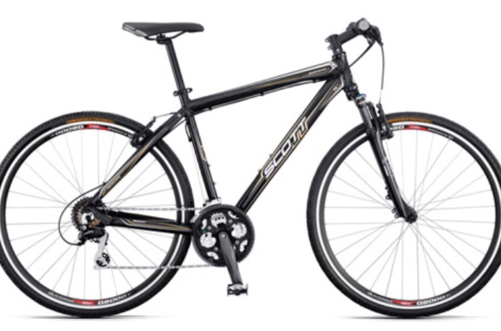 Warrington cyclists please look out for this Scott C50 of my sons, just stolen from outside Aldi. Please RT. https://t.co/07bJceVjc4