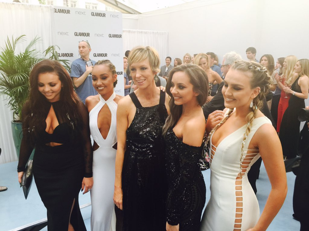 Those gorgeous @LittleMix girls are here with their newest member, GLAMOUR editor @jo_elvin #GlamourAwards https://t.co/TdWW3iJHYP