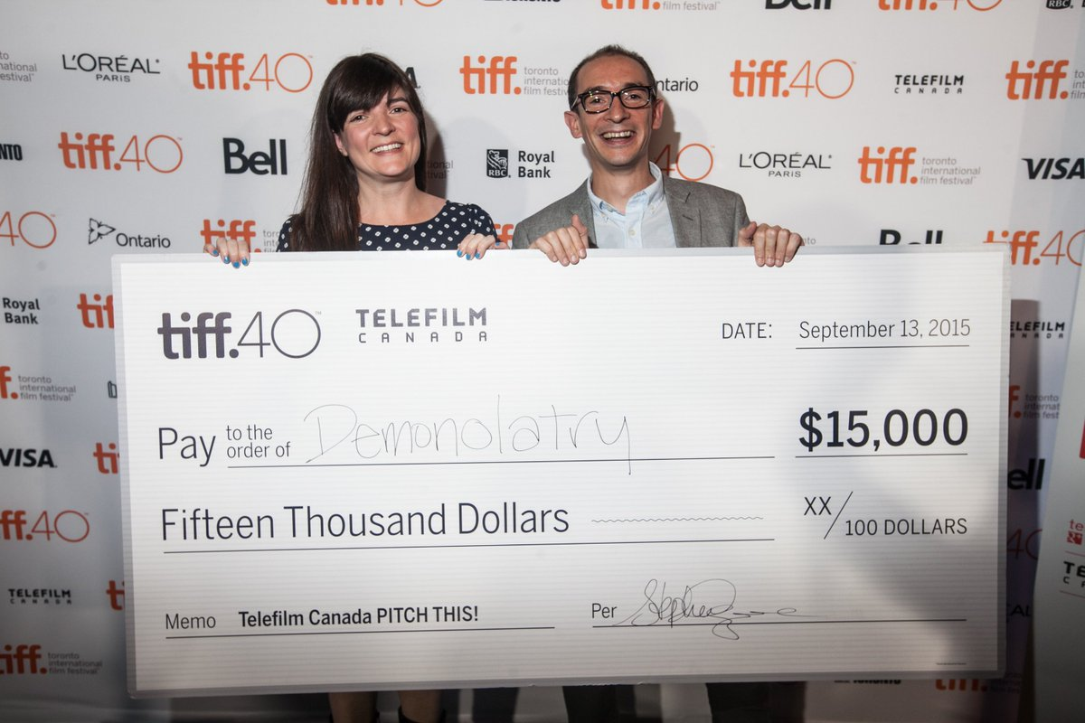 Telefilm Canada PITCH THIS! applications are open NOW! Apply here for a chance at $15,000 https://t.co/IwTYjdzygO https://t.co/MfhByjh5zn