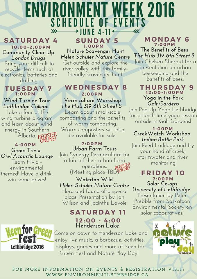 @EnviroLeth has a ton of events and activities happening for #EnviroWeek. Check them out! #yql https://t.co/41uw32btBu
