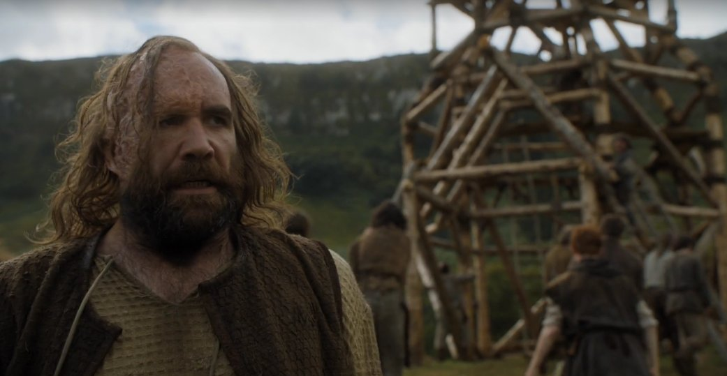And then this happened and I was out of my seat screaming and dancing. SANDOR MOTHERFUCKING CLEGANE IS BACK! https://t.co/OeivQeh8di