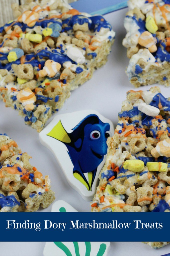 Finding Dory Marshmallow Treats Recipe - https://t.co/WwGewSUUqP https://t.co/4uhiySF54U